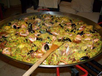 Paella en su casa 35 votre paella domicile rennes et for Repas entre copains